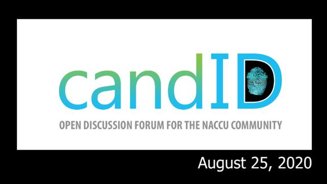 candID conversation - August 25, 2020