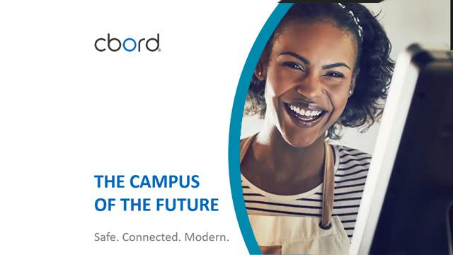 CBORD campus of the future