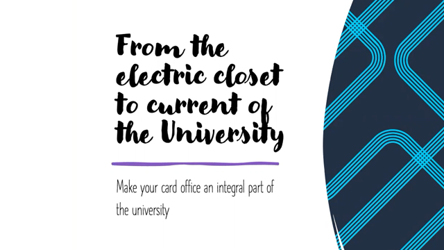 From the Electric Closet to the Current of the University