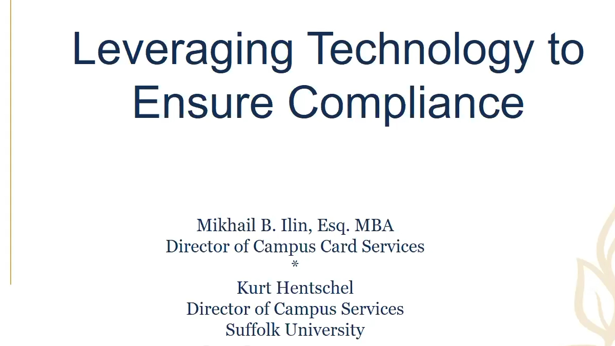 Leveraging Technology for Vaccine Compliance at Suffolk University