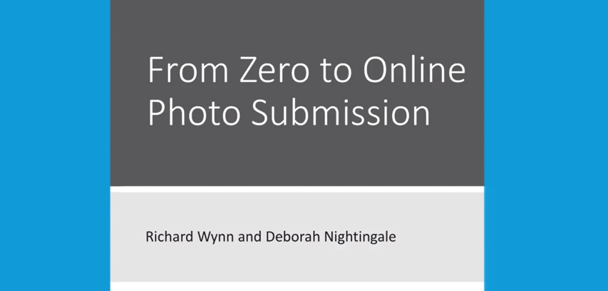from zero to online photo submission